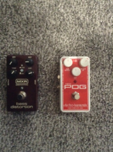 Guitar and Bass effects