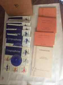 Rare!  Prestine vintage Linguaphone French language course
