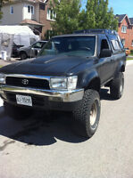 1993 Toyota T100  4x4 Pickup Truck  E.TESTED 3500$ / Trade