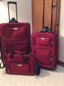great luggage set at a cheap price!