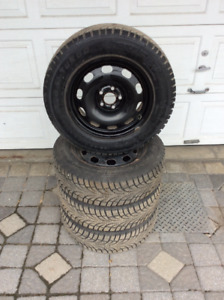 Winter tires negotiable