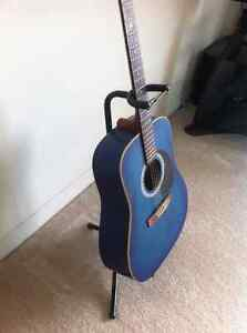 "Art Lutherie Blue ""Wild Cherry"" Guitar Cambridge Kitchener Area image 5"
