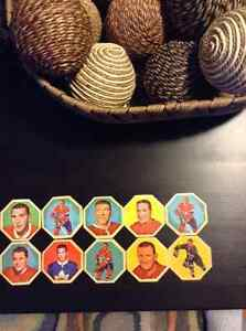 1963-64 York Peanut Butter Whiteback Hockey  Disks Kitchener / Waterloo Kitchener Area image 1