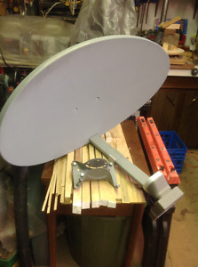 Satalite Dish and all accesories