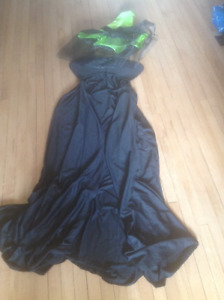 WITCH COSTUME - Also CLOWN, SUPERKID, ASSORTED WIGS, MAKEUP