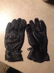Botte et gants de moto