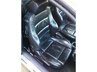 Vw golf mk4 full black leather recaro interior