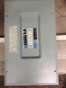 Federal Pioneer Electrical panel box 112-24 25 amp w/breakers