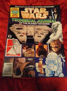 Star Wars Technical Journal Volume 1 Of The Planet Tatooine