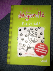 Diary of a Wimpy Kid French book for sale