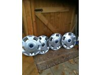 Ford transit wheel trims 16in