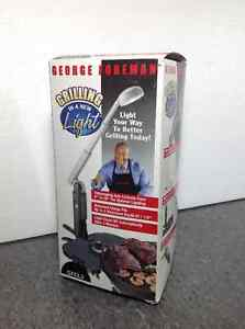 NEW George Foreman Grilling Light