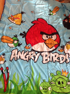 Angry Birds Bedding - twin