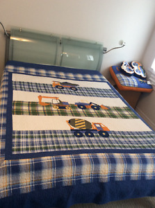 Construction Themed Quilt