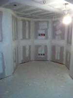 Drywall Installation & Taping Services