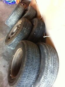 6 ra and tires 15 inch
