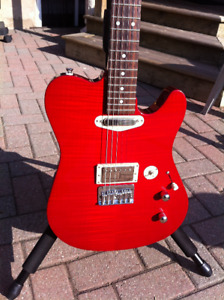 BUZZ FEITEN Blues Pro, red, with choice of necks & hard case