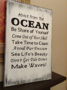 Wall Signs / Home Decor (Made here)