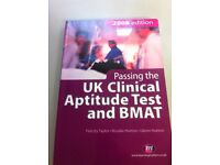 Passing the UK clinical aptitude test and Bmat 2008