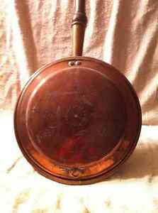 Antique Copper Bed Warmer. Sarnia Sarnia Area image 4