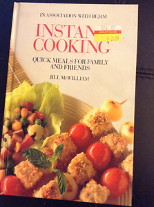 """INSTANT COOKING QUICK MEALS"" COOKBOOKS"