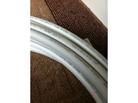 White Speed Barrier Pipe
