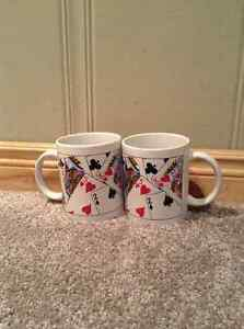 Gambling coffee mugs (2)