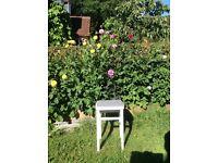 Shabby chic stool