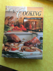 On Cooking, Professional Chef Textbook