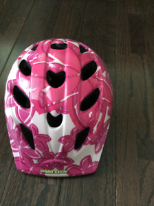 GIRL'S SUPERCYCLE BIKE HELMET for 2-5 year-olds!