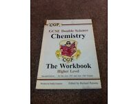 GCSE double science chemistry workbook higher level