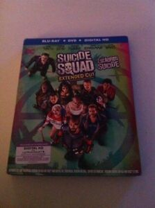 Suicide Squad Blue Ray/DVD Combo