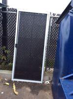 Moustiquaires de portes patios 5 et 6' usages à vendre