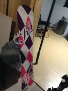 Ladies k2 snowboard
