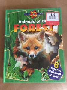 Brand New Puzzle/Animal book