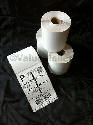 3 Rolls 4 X 6 Zebra Direct Thermal Shipping Printer Labels 250750 Free Ship