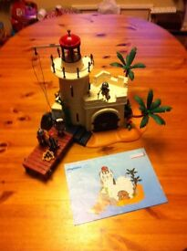 Playmobile pirate fort lighthouse