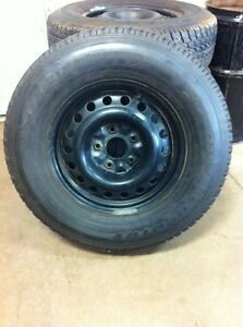 NEW- 225/75R16 toyo open country winter tires on rims! 450$ OBO