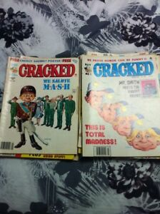 Old Cracked magazines for sale taking offers