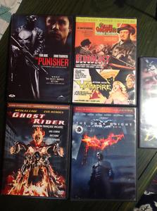 Bundle 5 DVD (horreur, vampire, marvel...)