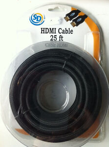 HDMI Cable 25ft - NEW