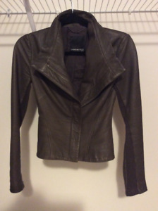 "ARITZIA ""A Moveable Feast"" leather jacket (XXS)"