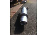 Powerflow stainless exhaust
