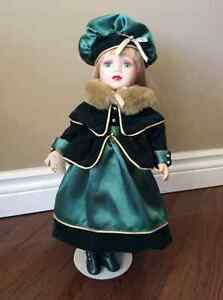 Limited Edition Victorian Collection Porcelain Doll
