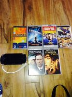 Psp 4 movies 2 games $70 OBO