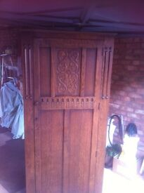 Locks of London golden Oak wardrobe real quality antique Lincoln