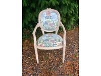 Shabby Chic Dressing Table Carver Chair