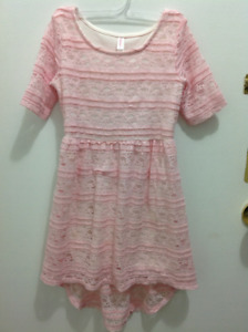 Very Elegant baby pink dress from winners size 6X