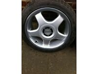 "Set if genuine 15"" borbet alloys 4x100"