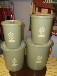 TUPPERWARE CANNISTERS